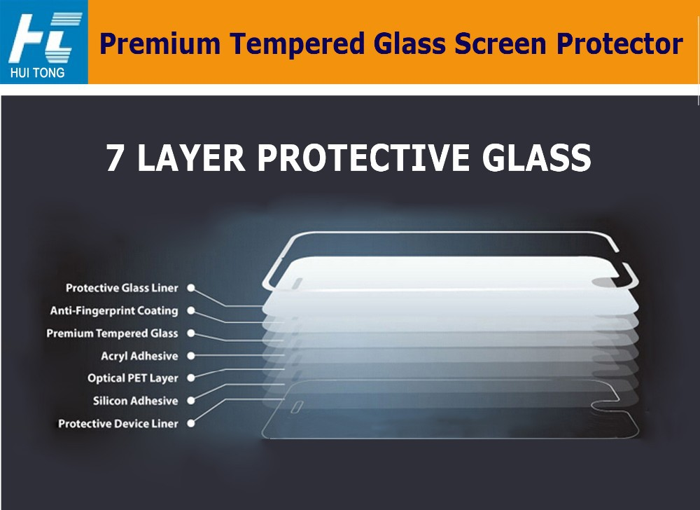 Hot Selling 0.33mm 2..5D Tempered Glass Screen Protectors For iphone6s