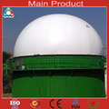 300m3 doble membrana hormigón digestor de metano