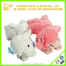 precioso vivo ovejas de juguete de felpa de juguete fabricante