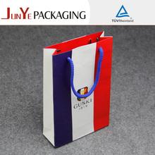 a todo color de lujo marca de bolsas de papel para la fábrica de gran tamaño de papel bolsas de la compra