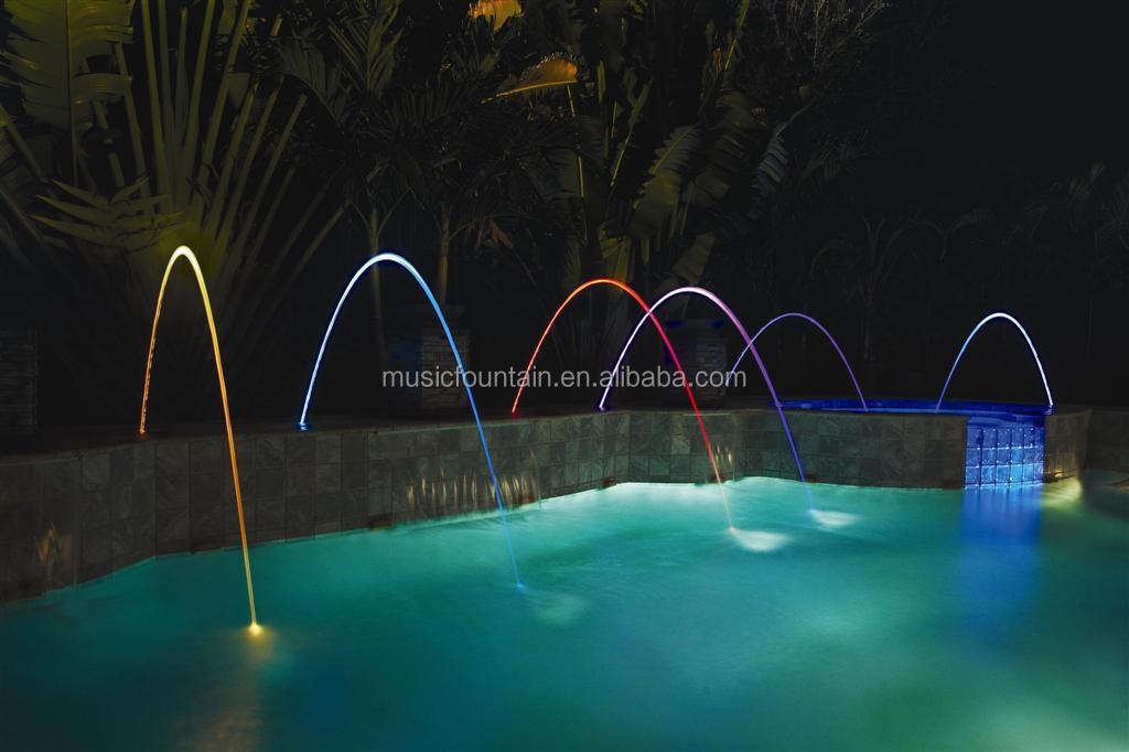 Swimming Pool Laminar Jet Water Fountain Nozzles