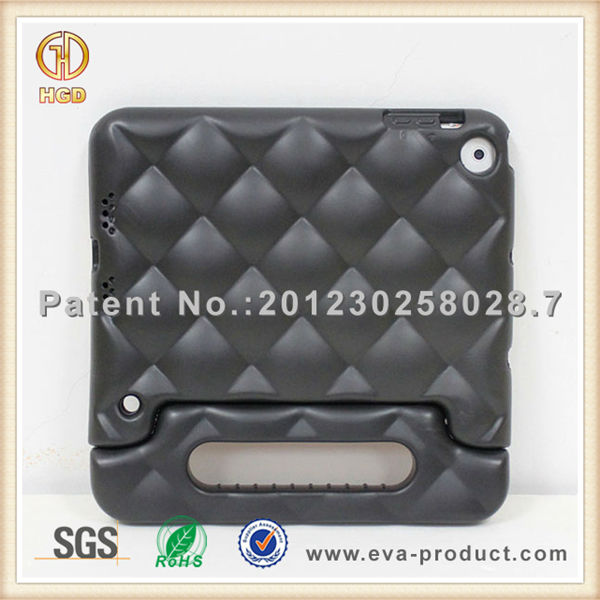 kid safe shockproof EVA case for iPad mini with handle stand in alibaba