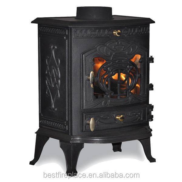 Cheap antique 6kw cast iron wood burning stove for sale - Antique wood burning stove ...