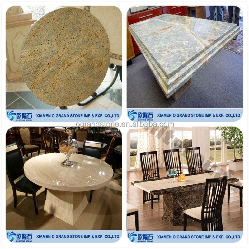 장식 현대적인 대리석 식탁 현대적인 식사 테이블 세트-조리대 ...