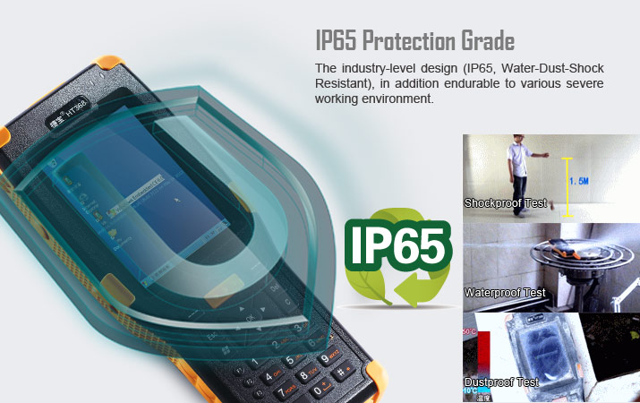 Handheld PDA Jepower HT368
