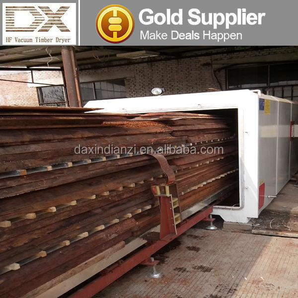 HF vacuum wood timber lumber drying machine/dryer kiln/drying oven