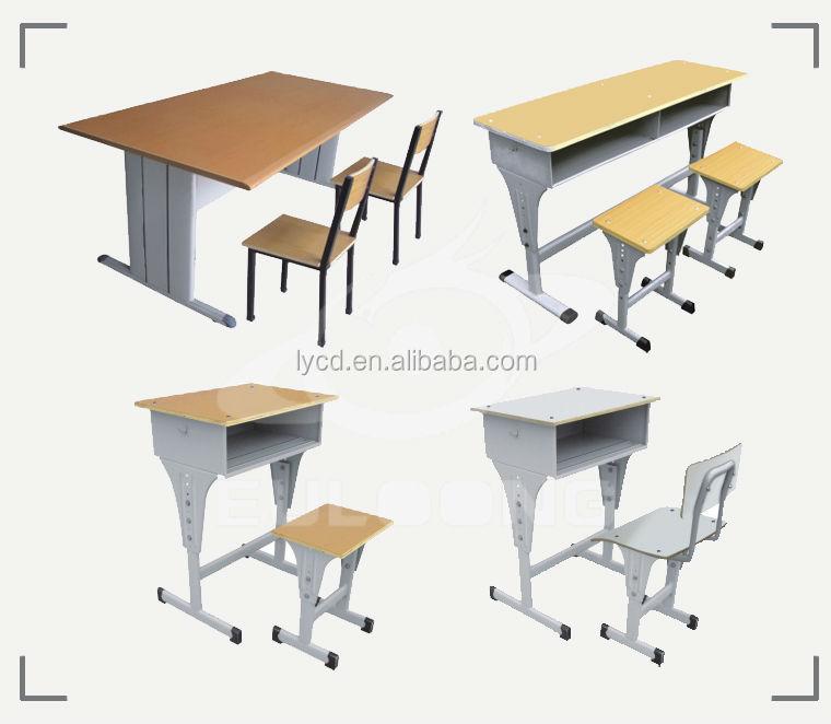 Haute qualit seul tudiant bureau et chaise double for Mobilier bureau etudiant