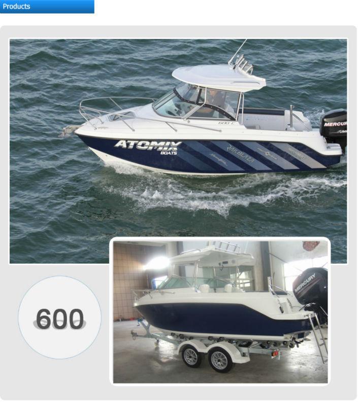 6m fiberglass convertible top motor boat 600 hard top Best motor boats