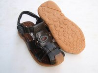 Сандалии для мальчиков summer children's sandals, leather sandals for children . Baotou models of child sandals, children's shoes Натуральная кожа