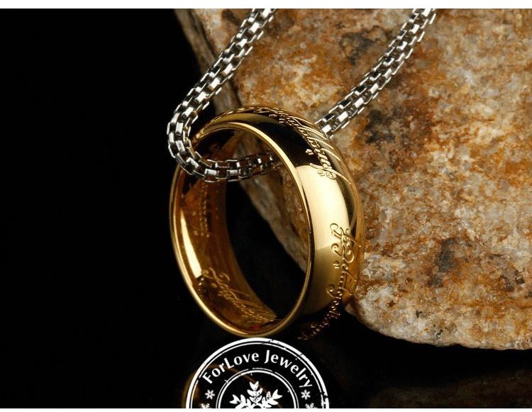 Как сделать кольцо властелина колец