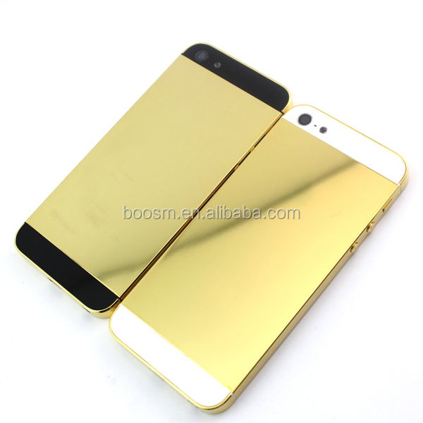 Iphone 5s Gold Back Plate Iphone 5 Gold Back Panel