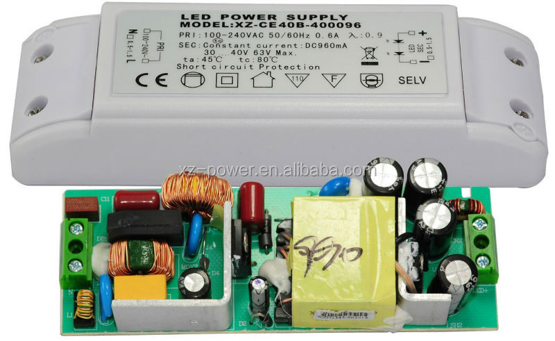 XZ-CE40B PSE 40W No Flicker Tube Light 70w led driver