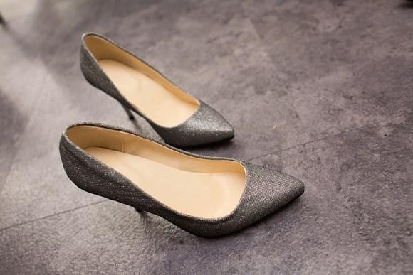Туфли на высоком каблуке , 002