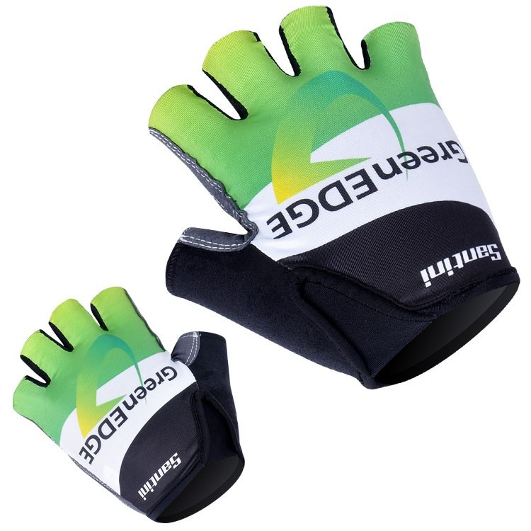 GreenEDGE fun & luvas ciclismo QE1