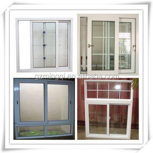 Horizontal Casement Windows : Modern luxury reinforcement upvc horizontal sliding window