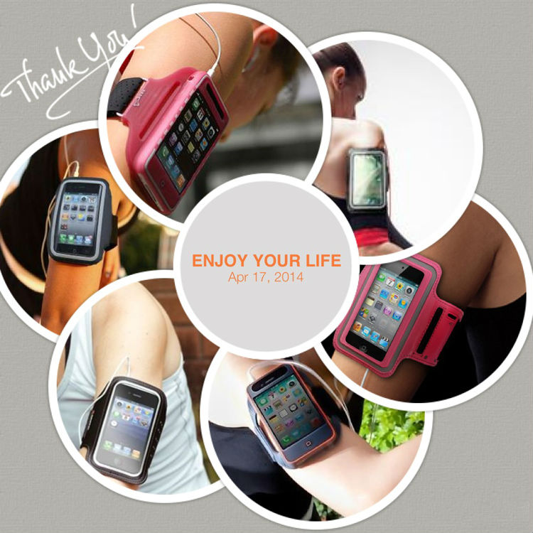 New style Neoprene wrist cell phone cover