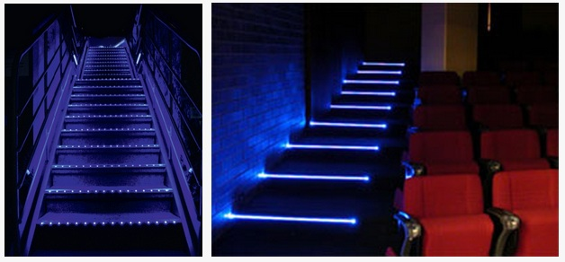 theater led step lights
