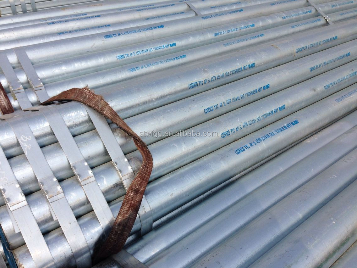 Astm a galvanized steel pipe sizes mm view