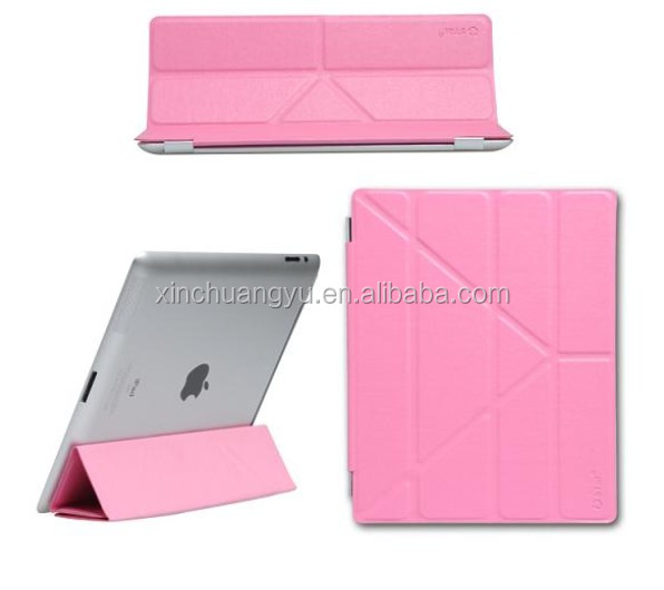 Foldable case for ipad 5,for ipad case with stand support function