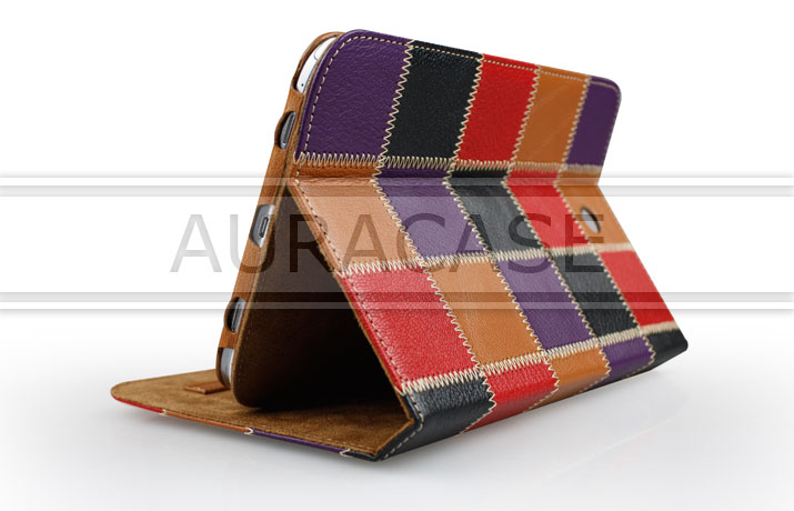 2014 Hermes Flip cover genuine leather tablet case for s amsung galaxy Note8.0