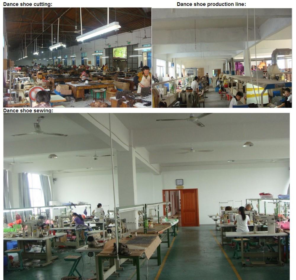 Dance shoe factory