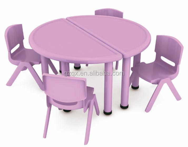 Gunagzhou Usine Bas Prix Enfants Table En Plastique Et