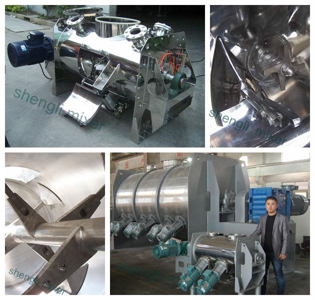 LDH ploughshear mixer, plow mixer