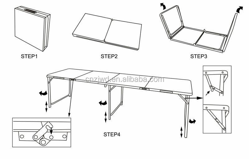 8ft pliage beer pong une personnalis bi re pong 8ft - Fabriquer une table de beer pong ...