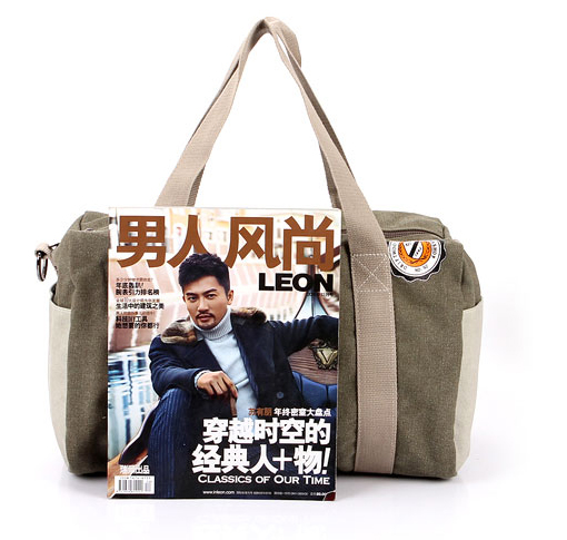 2014 trendy men's canvas golf travel bag