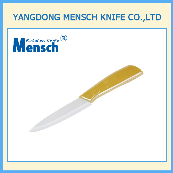 4 inch fine china ceramic knife in high quality|ceramic handle