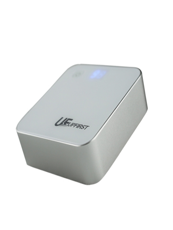 colorful plastic case dual output portable external mobile battery charger