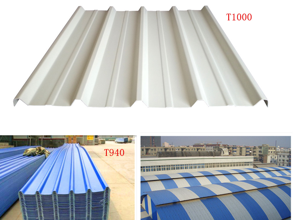 3 Layer Upvc Plastic Sheet For Roofing Covering Plastic