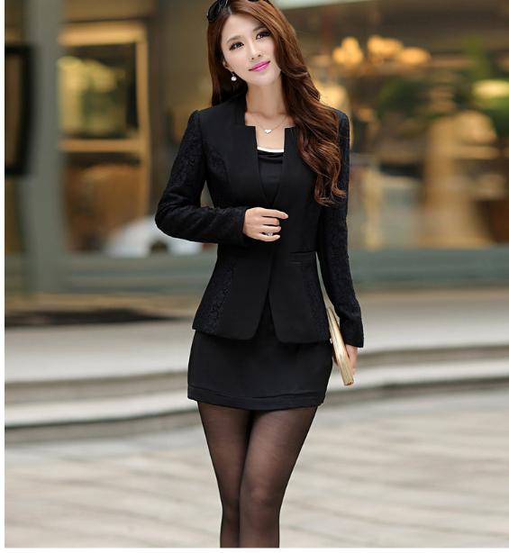 Casual Cotton Blazer For Women Button Casual Blazer Women