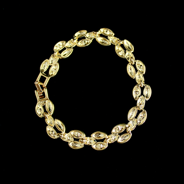 2018 New Designer Jewelry 18k Gold Plated Alloy Fashion Clear