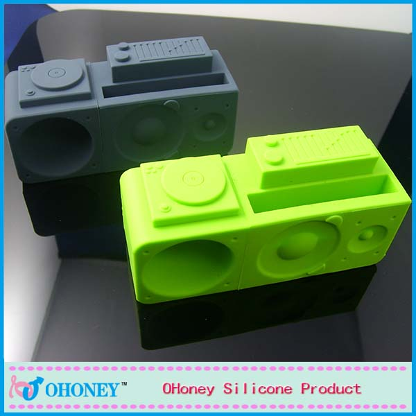 USA cheap Eco-friendly phone accessories silicone loud for Iphone 4/4s/5