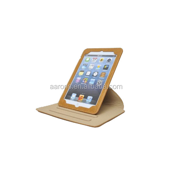genuine Leather Case for ipad mini 3 frame leather case