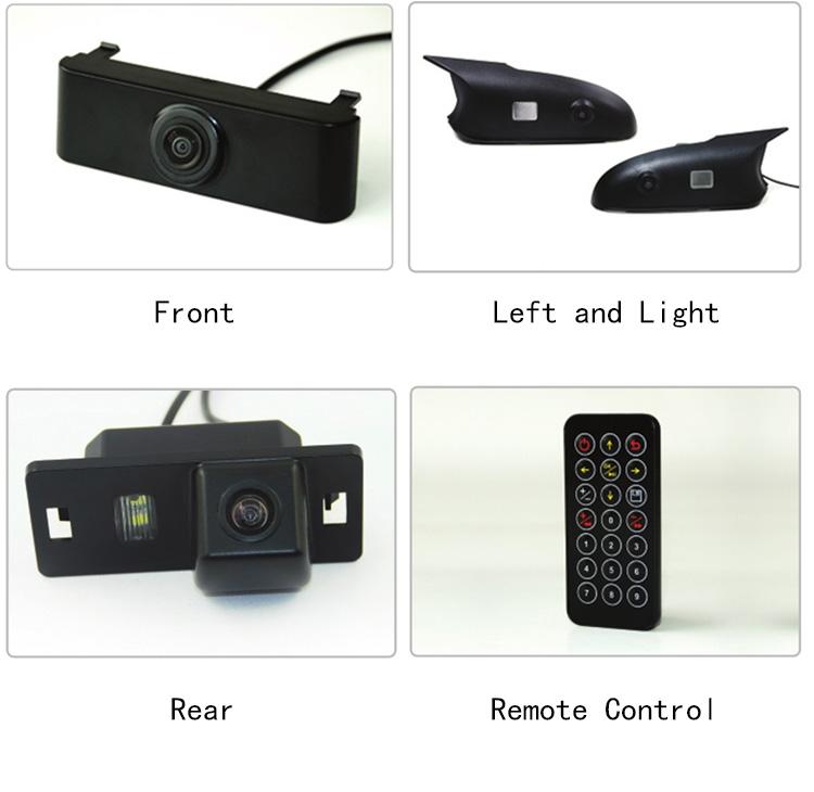 Boyo VT-BP 3Birds Eye Car Camera processor - cameras views