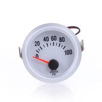 """давления масла метр масла с датчиком для авто 2 """"52 мм 0 ~ 100 psi синий светодиодный свет"""