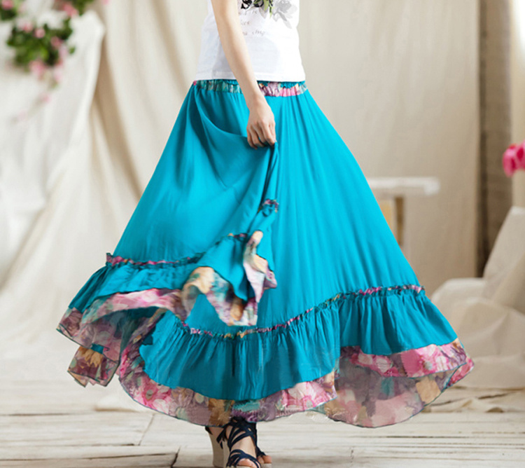 Cotton Skirts And Tops - Skirts