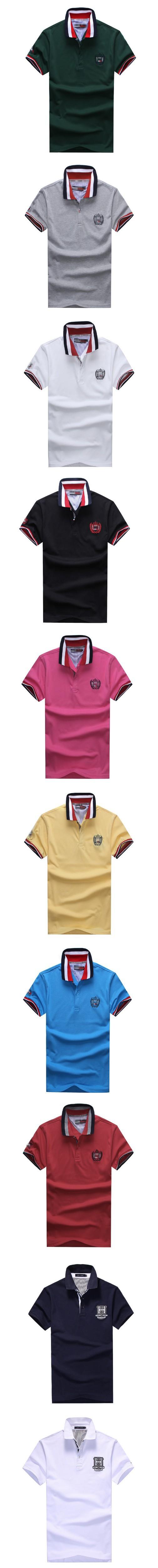 удивительные качества рубашки короткий рукав 100% хлопка футболку мужчины hilfige xxxxl плюс размер 10 цветов