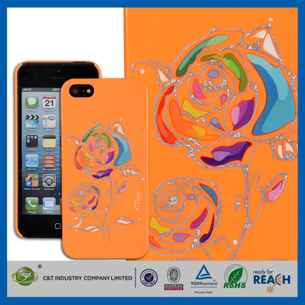 C&T For Silicone iphone 5 case,for iphone 5 Mobile Phone Accessories