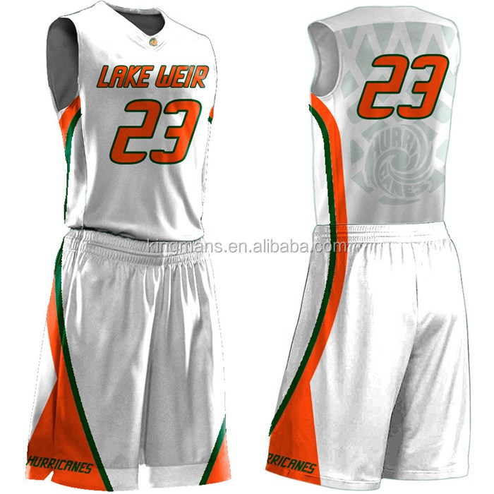 Basketball uniforms design