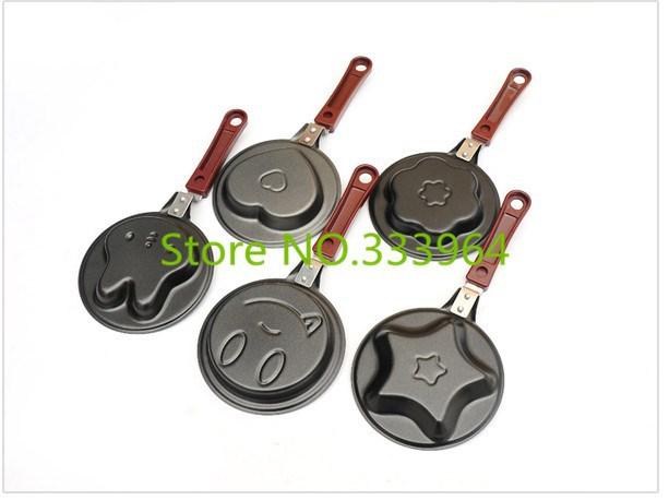 Мини-титана сковороде жареные яйца Пан машины плесень творческие Корейский завтрак Пан без крышки 5 стилей