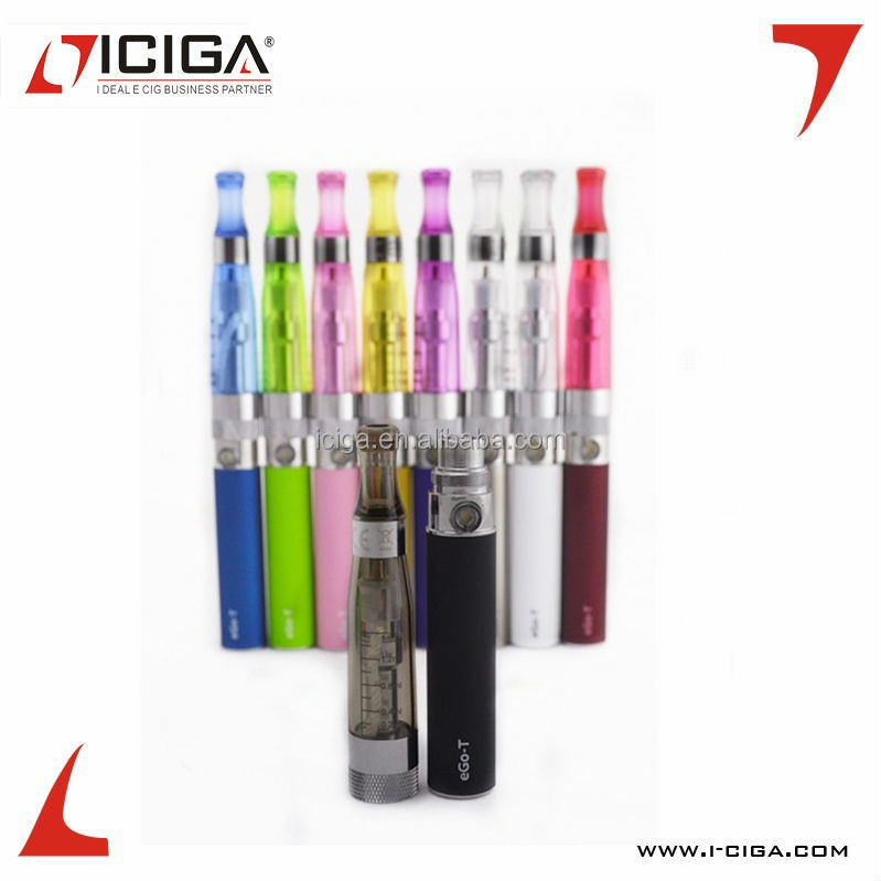 ICIGA CE4 Starter Kit -atomizer wholesale exgo w3 10 colors ego ce4 of Real HGB AAA battery electronic cigarette Ecigator ce4