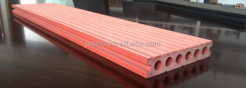 aplicacao deck jardim:Preto Oco Rodada Buracos Deck de Madeira Composto Plástico Placa/Deck