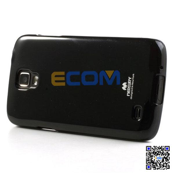 2014 Black Mercury Glittery Gel Cover Case for Samsung I9295 Galaxy S4 Active I537