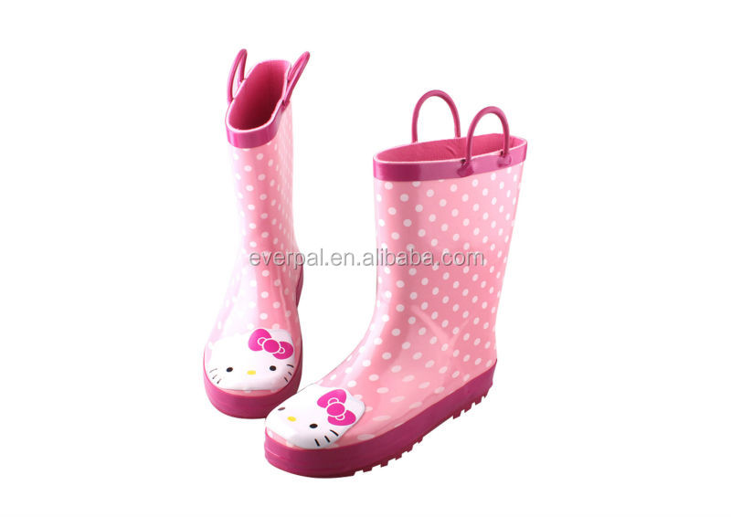 ladies fashion rubber rain boots 2014 plastic boots for rain