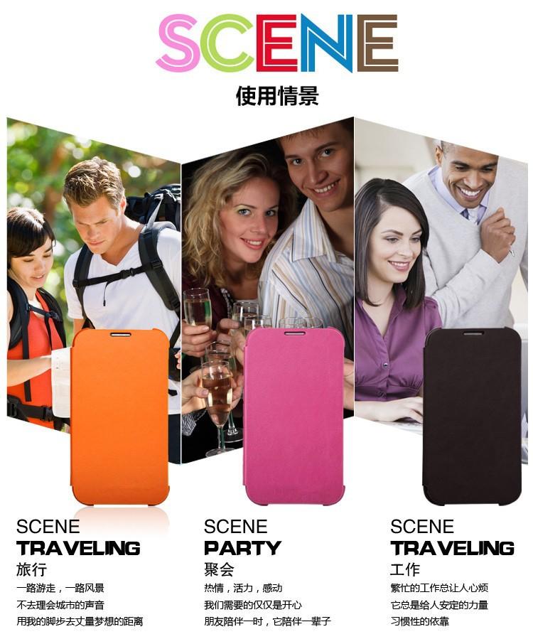 שבב IC עבור Samsung Galaxy הערה 3 III Note3 N9000 N9005 מקורי S להציג שינה בעקבות תפקוד היפוך סוללה דיור מקרה Aa4