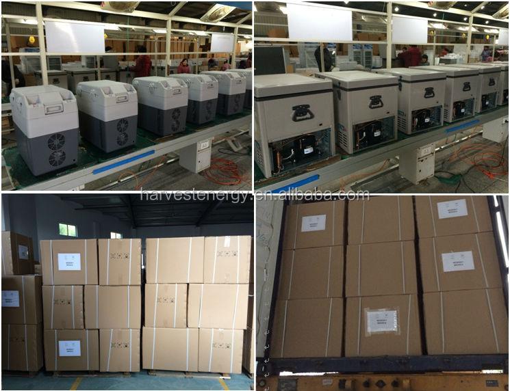 60L,70L,80L 24V/12V portable mini car refrigerator