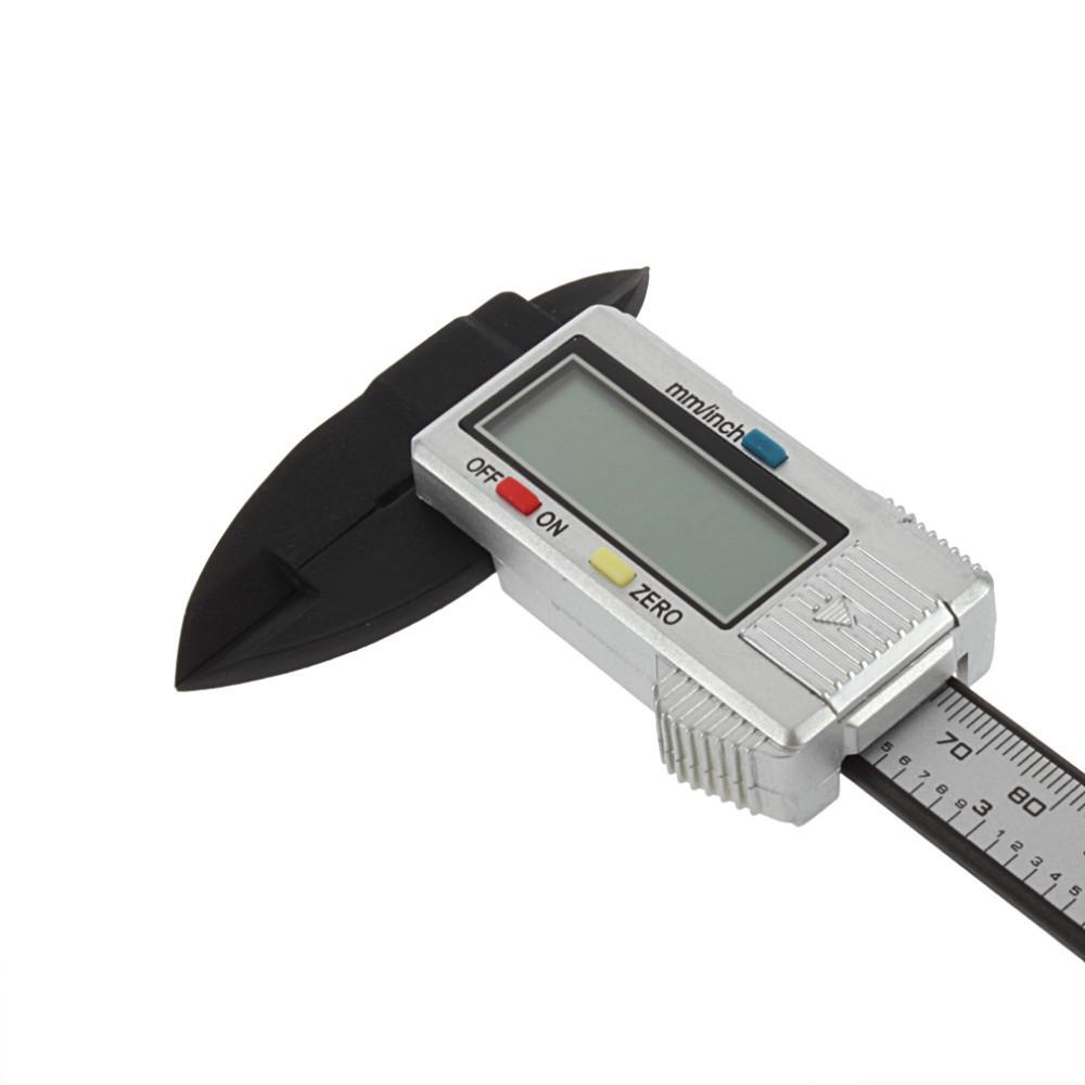 Digital Vernier Caliper 6 inch 150 mm Carbon Fiber Composite ( Not Stainless Metal ) Vernier Digital Digital Caliper Ruler